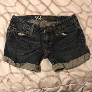 Bullhead Shorts - Bullhead Blue Jean Shorts